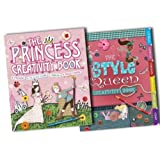 Andrea Pinnington 2 Books Collection Pack Set RRP: �19.98 (The Style Queen Creativity Book, The Princess Creativity Book)by Andrea Pinnington
