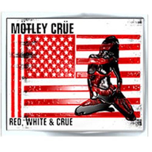 Mötley Crüe - Pin Pin - Red, White & Crue Logo (in )