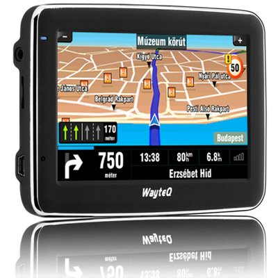 WayteQ x850 Drive Sat Nav - 4,3