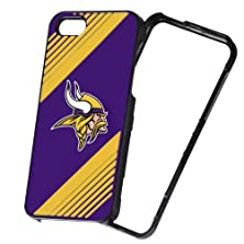 buy Forever Collectibles Nfl 2-Piece Snap-On Iphone 5/5S Polycarbonate Case - Retail Packaging - Minnesota Vikings