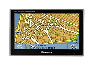 Plenio VXA-2100 7-Inch Portable GPS Navigator