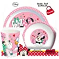 Spearmark 3-Piece Minnie Mouse Tumbler, Bowl and Plate Set
