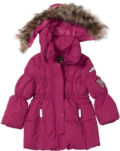 NAME IT Mädchen Kurzmantel 13086586 MOCCA MINI DOWN JACKET VIOLET QUAR, Gr. 80, Violett (Violet Quartz)