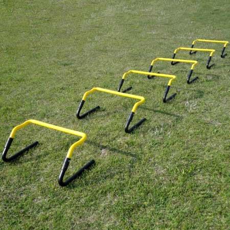 リーディングエッジ トレーニング ハードル 6個セット ESTH-030 高さ調節可 [アジリティ スピードトレーニング]