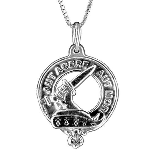 barclay-scottish-clan-crest-pendant-sterling-silver