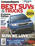 img - for Best Suvs and Trucks 2014 (Consumer Reports) book / textbook / text book