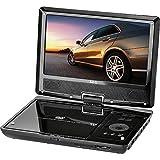 AEG CTV 4959 portabler LCD DVD-Player mit integriertem DVB-T-Receiver (22,5 cm (9 Zoll) Bildschirmdiagonale, USB/DVD/DVB-T)