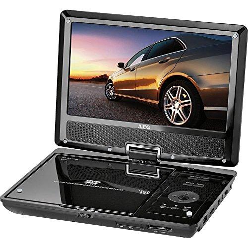 CTV 4959 portabler LCD DVD-Player mit integriertem DVB-T-Receiver (22,5 cm (9 Zoll) Bildschirmdiagonale, USB/DVD/DVB-T)