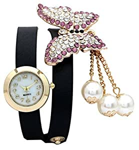 Horse Head KITCONE New stylish Diamond Big stone studded bracelet watch for woman and girls