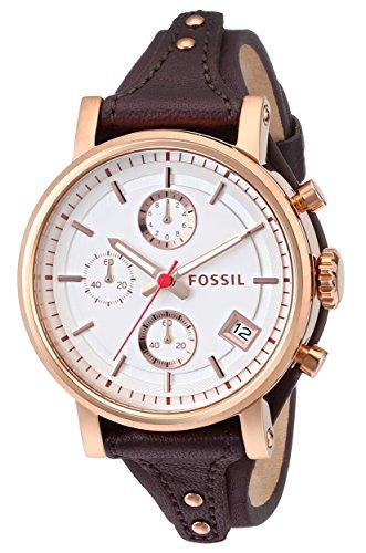 Orologi Fossil Boyfriend Es3616 Donna Bianco