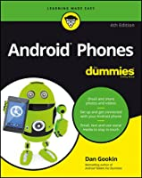 Android Phones For Dummies, 4th Edition Front Cover