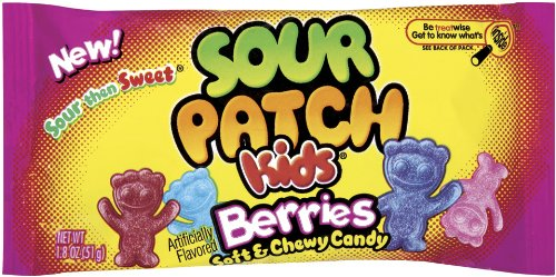 Sour Patch Kids Candy Berries 24 Count 1 8 Ounce