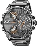 Diesel Homme Bracelet & Boitier Acier Inoxydable Noir Quartz Chronographe Montre DZ7315