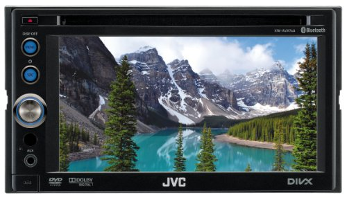 JVC KW-AVX740 Double Din Multimedia System with Full Speed iPod Control