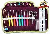 Martha Pratt Crochet Hooks Soft Handle Kit (31 Items)