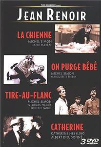 Coffret Jean Renoir 3 DVD : La Chienne / Tire au flanc / On purge Bébé / Catherine