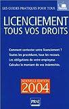 echange, troc Carl Paolin - Licenciement 2004 : Tous vos droits