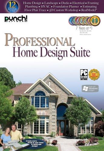 Pro Home Design Suite (Win 95,98,2000,Xp,Vista)