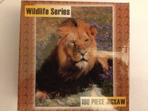 Ron Kimball Studios Wildlife Series 100 Piece Jigsaw Puzzle - Lion