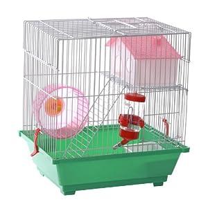 cage pour hamster les bons plans de micromonde. Black Bedroom Furniture Sets. Home Design Ideas