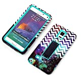 Galaxy Note 4 Cases, Vogue Shop Beautiful Design 2in1 Hybrid Case Cover for Samsung Galaxy Note 4 [Stand Feature] Scratchproof Dustproof Shockproof Samsung Galaxy Note 4 (Three Month Warranty)