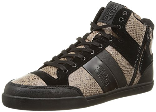 Jim Rickey - Carve Mid Z, Sneakers da uomo, nero (snake black), 43