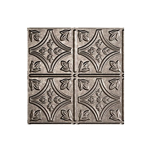 Fasade - Traditional 1 Galvanized Steel Lay In Ceiling Tile / Ceiling Panel - Fast and Easy Installation (12