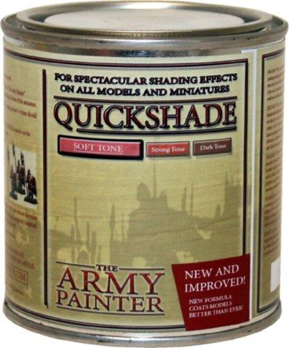 Army Painter 1001 - Barniz de efecto sombra para modelismo (tono suave)