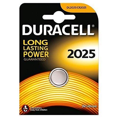 Duracell DL2025 3V lithium monnaie pile Pack 1