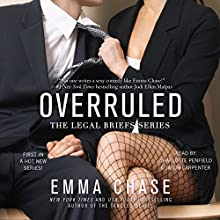 Overruled Audiobook by Emma Chase Narrated by Jason Carpenter, Charlotte Penfield