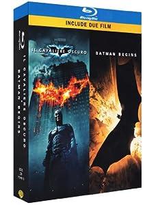 Il Cavaliere Oscuro / Batman Begins (3 Blu-Ray) [Italia] [Blu-ray]