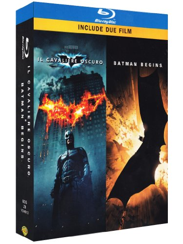 Il cavaliere oscuro + Batman begins [Blu-ray] [IT Import]