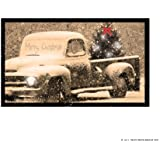 Ohio Wholesale Radiance Lighted Merry Christmas Pick up Truck Canvas Wall Art, from our Christmas Collection