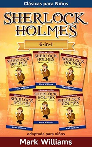 sherlock-holmes-adaptado-para-ninos-6-in-1-el-carbunclo-azul-estrella-de-plata-la-liga-de-los-pelirr