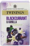 Twinings Fresh and Fruity Blackcurrant Ginseng and Vanilla Tea Bags 40 g (20 Tea Bags) Pack of 4