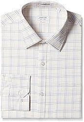 Arrow Men's Formal Shirt (8907378513168_ASSF0188_40_Light Yellow)