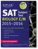 Kaplan SAT Subject Test Biology E/M 2015-2016 (Kaplan Test Prep)