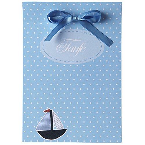 15 einladungskarten zur taufe taufkarten set boaty alles inkl einladungen danksagungen. Black Bedroom Furniture Sets. Home Design Ideas