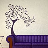 Big Tree Wall Sticker / Wall Decal Art / Large Removable Tree Wall Transfer ne52