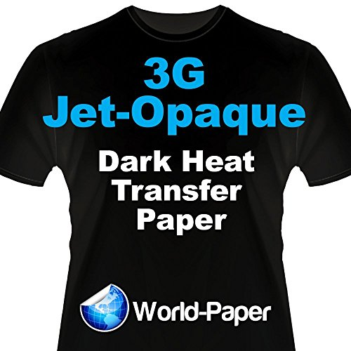 "Darks 17""x100' Roll Heat Transfer Paper Ships Free Neenah 3G JET-OPAQUE 1 Step"