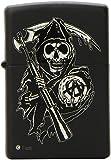 Zippo Reaper Lighter, Black Matte