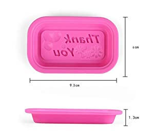 Bread Cheesecake TOOTO Glossy Silicone Mold for Soap Muffin Brownie 4 Cavity Round Shaped and More Cornbread Cake Cupcake