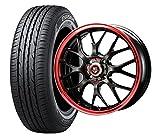 15インチ 1本セット サマータイヤ&ホイール ダンロップ(DUNLOP) ENASAVE EC203 165/55R15 ビッグウェイ