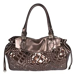 Merona Bronze Side Draw Lrg Satchel : Target from target.com