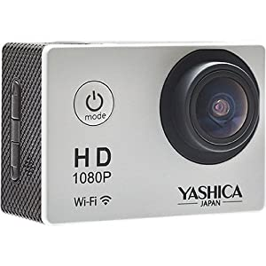 Yashica YAC-300 Action Camera with Wi-Fi (Silver)