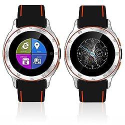 Indigi Sporty Design Waterproof 3G Smartwatch Phone Factory Unlocked Android 4.4 WiFi GPS Smart Watches Unlocked Smartphone