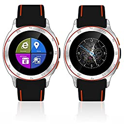 Indigi Allweather Waterproof Android 4.4 Smart Watch Phone 3G+WiFi Google Maps Unlocked
