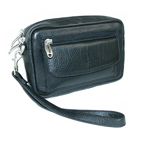 Winn-Harness-Leather-Compact-Organizer-EW-Style-Black-Brown