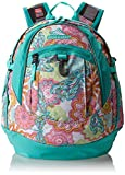 High Sierra Fat Boy Backpack, Henna Dragon/Aquamarine, 19.5 x 13 x 7-Inch