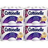 Cottonelle Ultra Comfort Care Toilet Paper, Double Roll, 12 Count (Pack of 4)